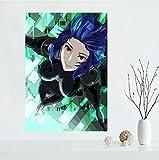 JIUJIUJIU Leinwand Poster Ghost In The Shell Anime Kunst
