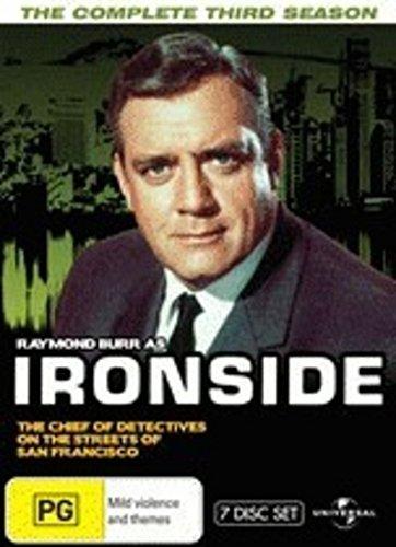 Ironside (Complete Season 3) - 7-DVD Box Set ( Ironside - Season Three (The Raymond Burr Show) ) [ NON-USA FORMAT, PAL, Reg.0 Import - Australia ]