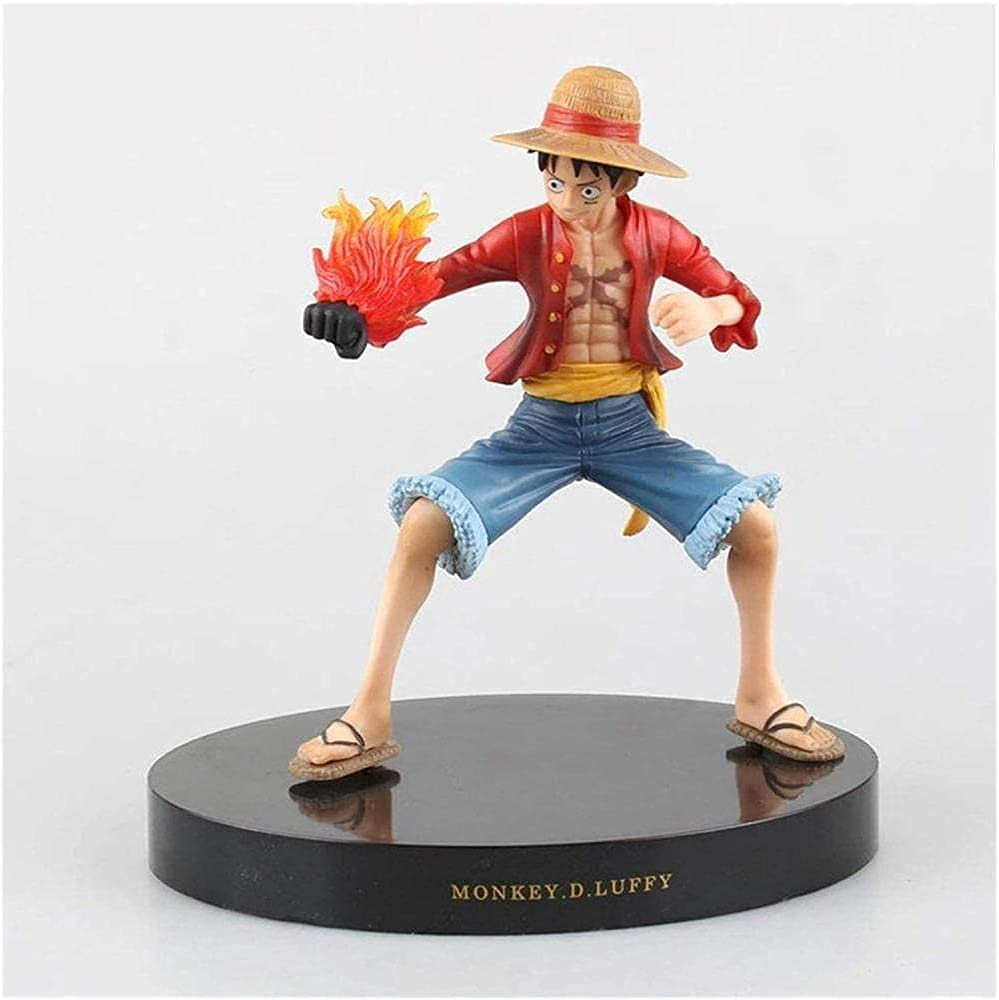 FOVKP Anime Figure Fire Fist Luffy Decoration Free Classic shipping Model Toy Premium