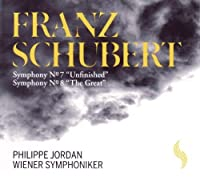 Schubert: Symphony No. 7 Unfinished - Symphony No. 8 The Great by Wiener Symphoniker