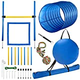 CHEERING PET Dog Agility Equipment - 28 Piece Dog Obstacle Course for Training