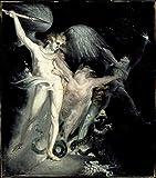 Berkin Arts Henry Fuseli Giclée Leinwand Prints Gemälde
