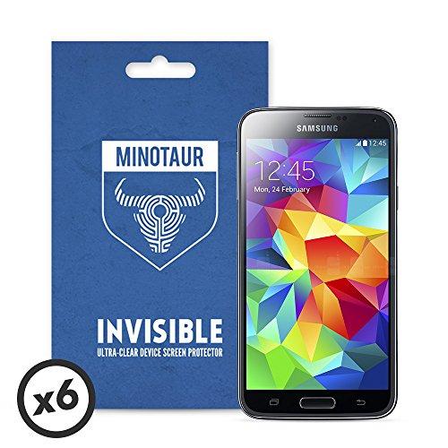 Samsung Galaxy S5 Schutzfolie, Minotaur Super Clear Bildschirmschutzfolie (6 x Bildschirmschutzfolien)