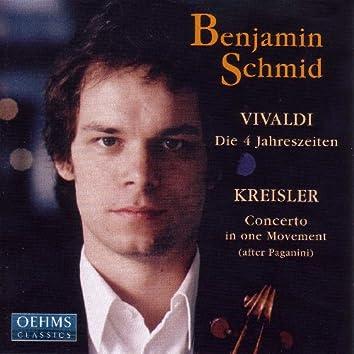 Vivaldi: 4 Seasons (The) / Paganini: Violin Concerto No. 1