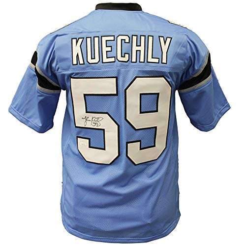 Luke Kuechly Autographed Signed Carolina Panthers Light Blue Alternate Jersey - JSA Certified Authentic