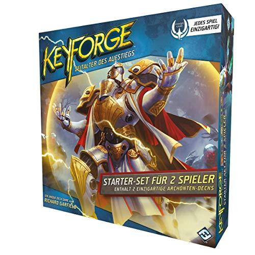 Fantasy Flight Games FFGD1404 KeyForge - Zeitalter des Aufstiegs - Starter-Set, Deutsch