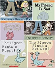 Mo Willems Set of 6 Paperback Books Includes Knuffle Bunny: A Cautionary Tale, Elephant & Piggie: My Friend Is Sad, Knuffl...
