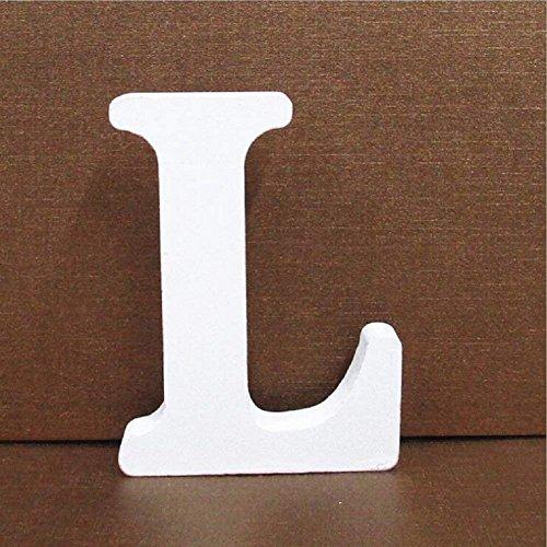 Gspirit Decorativo De Madera Letras, Pared Letras 26 Letras Madera Alfabeto para...