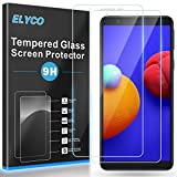 ELYCO Protector de Pantalla para Samsung Galaxy A01 Core, [2 Piezas] [Alta Definicion] 9H Dureza Anti-Caída/Anti-Rasguños Sin Burbujas Cristal Templado Vidrio Templado para Samsung Galaxy A01 Core