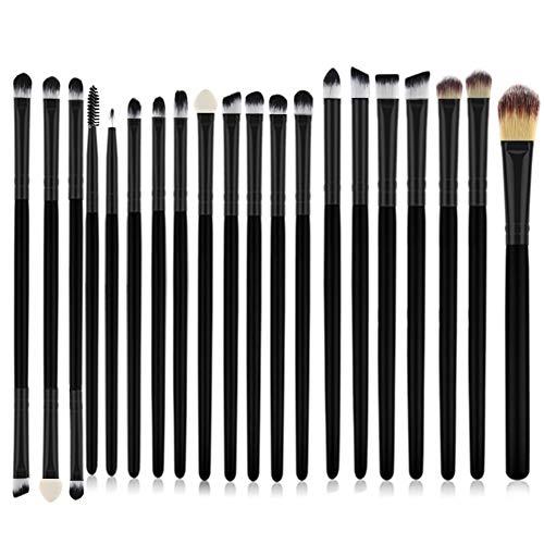 Pinceau De Maquillage Professionnel 20 Pcs Set Maquilleur Fil Débutant Visage Modification Outil Pinceau De Maquillage Microcristallin