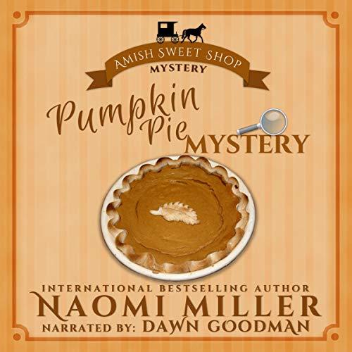 Pumpkin Pie Mystery audiobook cover art