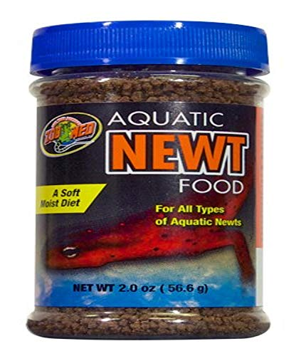 Zoo Med ZM-17e Aquatic Newt Food, Futterpellets für Molche
