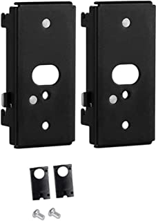 Bedycoon 2 Pack Replacement Wall Mounting Bracket for Bose SlideConnect WB-50 - Black (UFS-20), Lifestyle 525 535 III,Lifestyle 600,soundtouch 300 soundtouch 520,CineMate 520,Wall Bracket