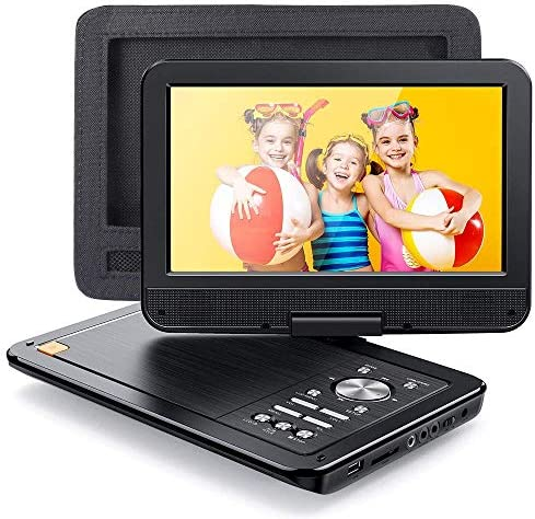 APEMAN 2021 Upgrade 12 5 Portable DVD Player with 10 5 HD Swivel Screen 6 Hour Rechargeable product image