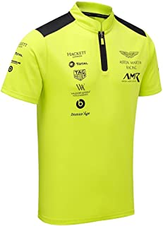 Aston Martin Racing Team Lime Green Polo Shirt
