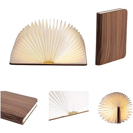 Faltbar LED Nachtlicht Booklight Buchlicht Beleuchtung Buch Lampe Kinder GIft
