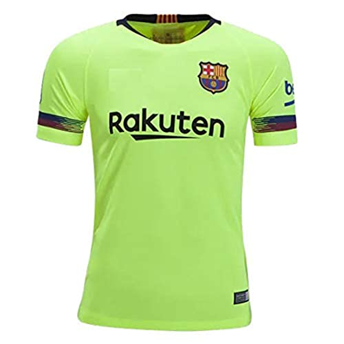 19cb6bc6337 Barcelona Away 2018-2019 Jersey kit for Adults - T Shirt and Shorts Jersey  Set