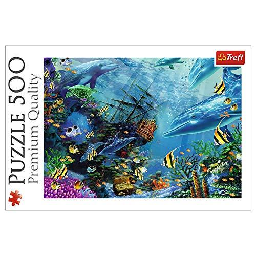 Trefl 37385 Puzzle, Mehrfarbig