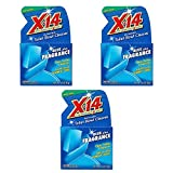 X 14 268011 Automatic Toilet Bowl Cleaner, Blue Plus Fragrance (3 Pack)