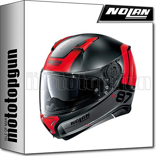 NOLAN CASCO MOTO INTEGRALE N87 PLUS DISTINCTIVE NEGRO MATO 024 SZ. L