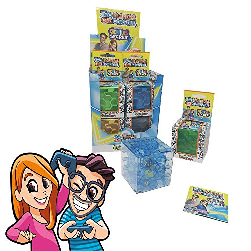Sbabam s.r.l.- Genius Secret Two Players One Console-Pack 3 Pezzi Stef & Phere, 4/cn2020