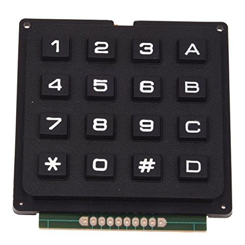 SODIAL(R) 4x4 Matrix 16 Teclado USE Teclas PIC AVR Sello