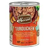 Merrick Grain Free Wet Dog Food Turducken - (12) 12.7 oz. Cans