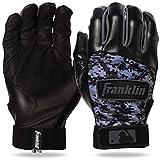 Franklin Sports MLB Digitek Batting Gloves – Youth Batting Glove – Tri-Curve Technology Fit – Custom-Sized Batting Gloves – Genuine Leather Heel Pad – Etched Microfiber Palm – Batting Gloves for Kids and Adults
