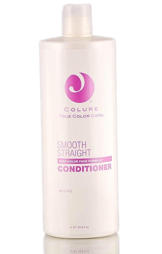 珍味容器熱帯のColure True Color Care Colure滑らかなストレートコンディショナー(新パッケージ)33.8液量オンス