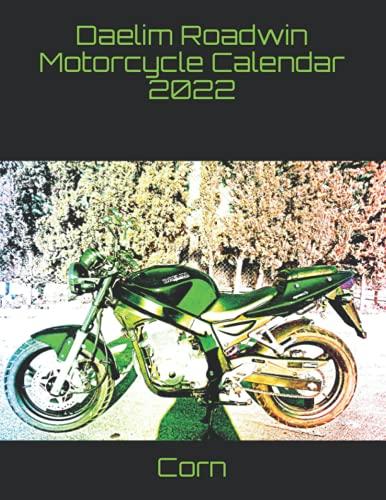 Daelim Roadwin Motorcycle Calendar 2022