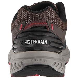 New Balance Men's 510v4 Cushioning Trail Running Shoe, Chocolate/Black/Team red, 12 XW US