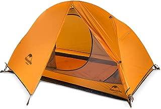 Naturehike 正規店 ネイチャーハイク 1人 超軽量 自立式 テント グランドシート付き PU3000 二層構造 キャンプ アウトドア 登山 防雨 防風 防災