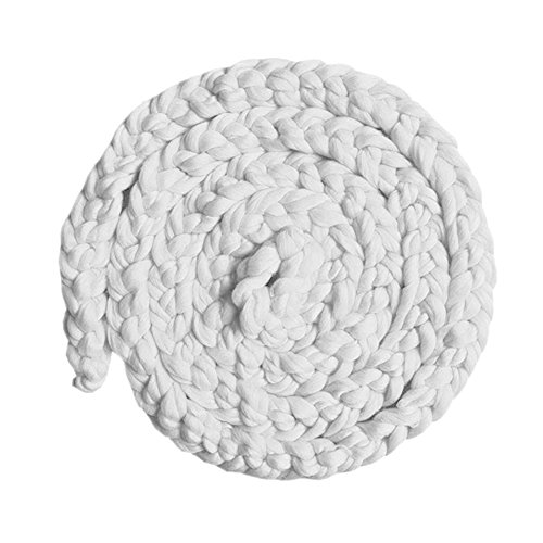 ZUMUii Butterme Photographie néonatale Costume Tricoté Photographie Supports Panier Braid Wool Wrap Baby Photo Props Sleeping Mat