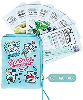 The Face Shop Bestseller Masksheet Combo (Pack Of 7), 20 g