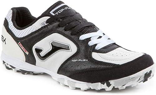 Joma Topflex 701 gazon - noir blanc - chaussures de soccer pour hommes - TOPW.702.TF (40.5)
