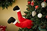 "Mr. Christmas 30463 Indoor Animated Christmas Kickers 16"" - Santa Holiday Decoration, One Size, Multi"