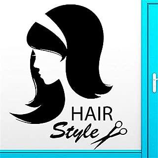Rbaers Wall Words Sayings Removable Lettering Creative Hair Hairdresser Beauty Salon Barbershop DIY Home Decor Art