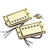 Ajcoflt 2 unids/Set Pastillas Humbucker Selladas para Guitarra Pastillas de Doble Bobina con Tornillos de Montaje para Guitarra eléctrica LP