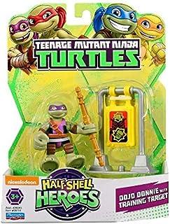 Teenage Mutant Ninja Turtles Half Shell Heroes Dojo Donatello with Training Target