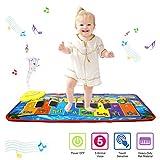 Tapis de jeu pour piano PROACC, Jouet de tapis de musique pour piano pour enfants,...