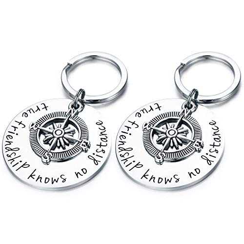 CJ&M Best Friend Keychain