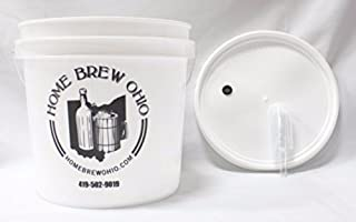 Home Brew Ohio B0156R1O0G FBA_Does Not Apply Complete 2 Gallon Fermenting Bucket, White