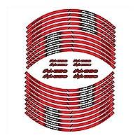 モーターサイクルガスタンクパッド保護デ カワサキ忍者 650 忍者 650 忍者 650 オートバイタイヤステッカーフロント後輪フィルムボーダー反射防水ステッカー (Color : 1)