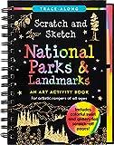 Scratch and Sketch National Parks & Landmarks (Trace-Along)