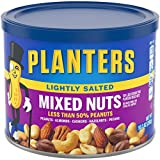 Planters Lightly Salted Mixed Nuts (10.3 oz Canister)