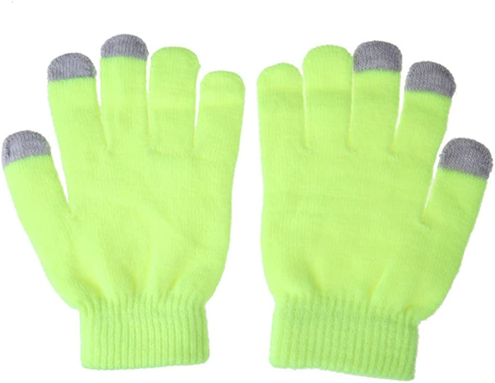 Touch Screen Winter Gloves Fashion Colors