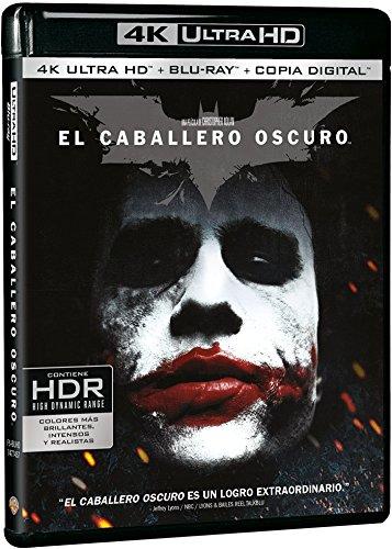 El Caballero Oscuro 4k Uhd [Blu-ray]