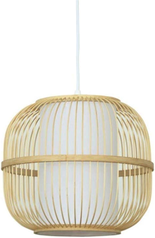 Deckenbeleuchtung Deckenleuchte Pendelleuchten Nacht Vogelkfig Kronleuchter Korridor Gang Balkon Laterne Tee Zimmer Bambus Licht 30  26 Cm