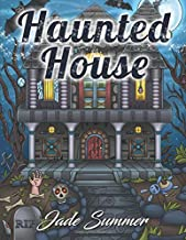 haunted house coloring book