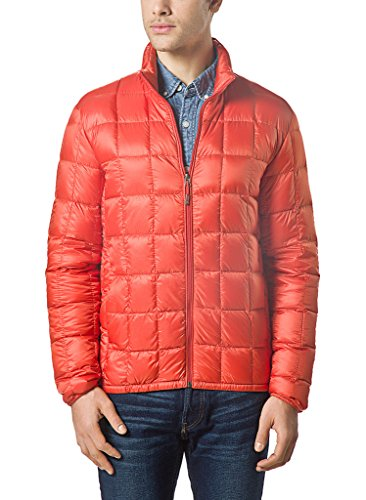 XPOSURZONE Men Packable Down Quilted Puffer Jacket Lightweight Puffer Coat